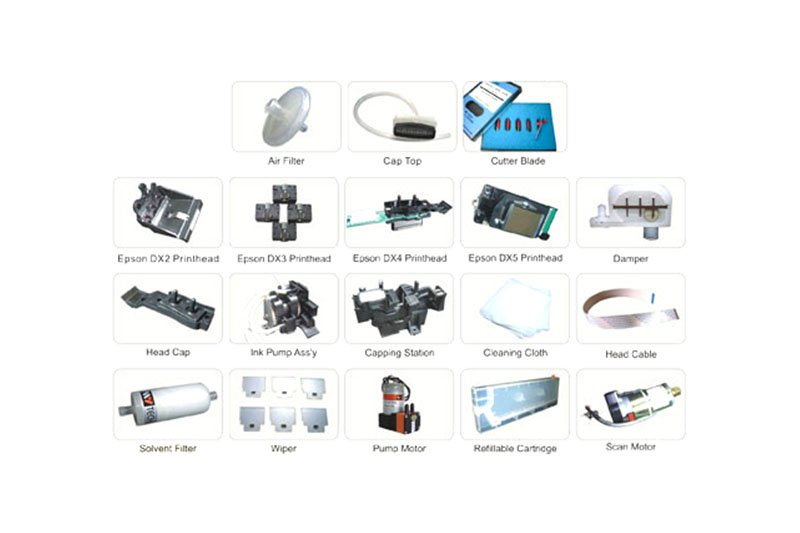 Roland Mutoh Mimaki Spare Parts
