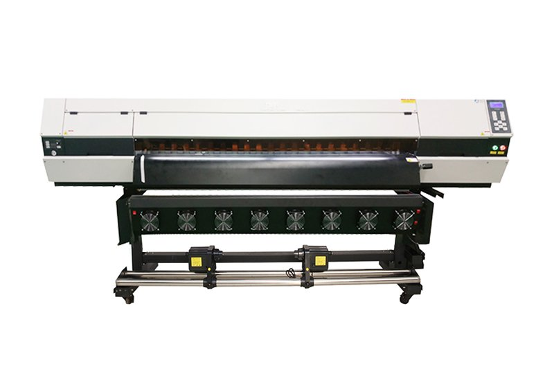 1.8M ECO SOLVENT PRINTER SJ-1803 WITH THREE DX5 HEAD
