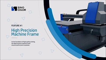 Get impressed by SinoColor FB-0906 UV Flatbed Printer New Introduction Video