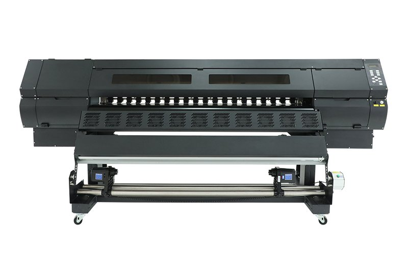 1.8M ECO SOLVENT PRINTER SJ-1804 WITH FOUR DX5 HEAD